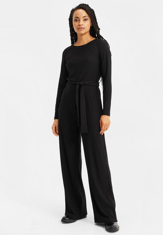 MET STRUCTUUR - Jumpsuit - black