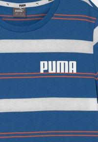 Puma - STRIPE UNISEX - Print T-shirt - star sapphire - 2