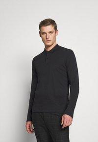 Selected Homme - SLHPARIS  - Polo shirt - black - 0