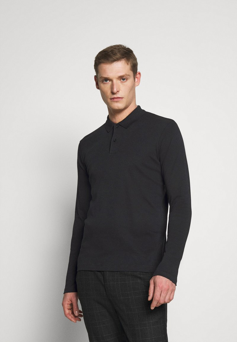Selected Homme - SLHPARIS  - Polo shirt - black