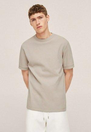 T-shirt basic - open beige