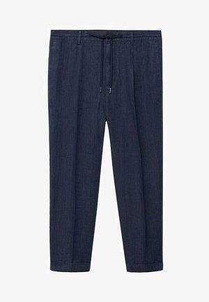 Trousers - blu marino scuro