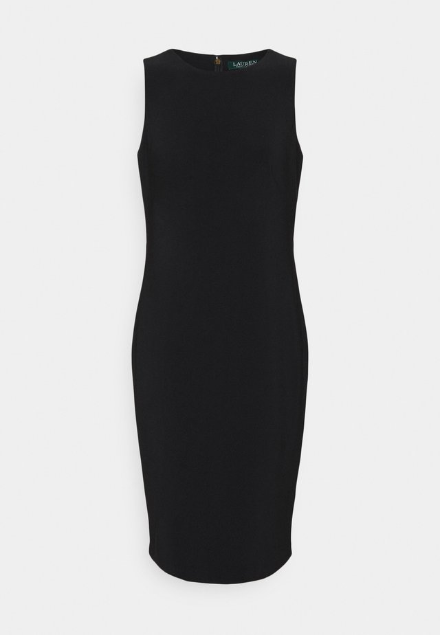 BONDED DRESS - Tubino - black