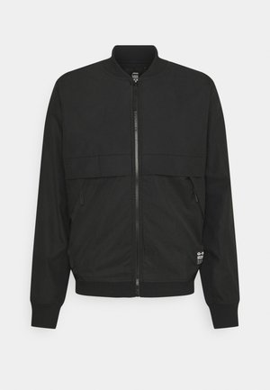 MIXED BASEBALL ZIP THROUGH - Bomber Jacket - black