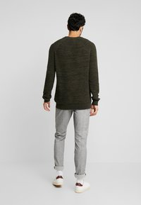 edc by Esprit - STRUCTURED  - Jumper - khaki green - 2