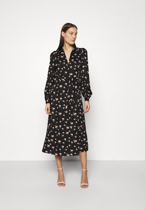EVERYDAY MIDI DRESS - Vapaa-ajan mekko - black