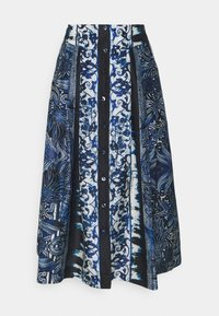 SKIRT - A-line skirt - blue