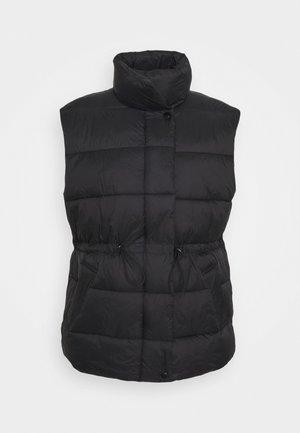 ZOE PUFFER VEST - Waistcoat - black