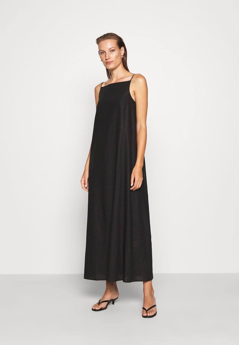 ARKET - DRESS - Kjole - black dark
