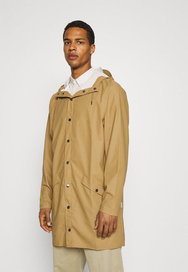 LONG JACKET UNISEX - Waterproof jacket - khaki