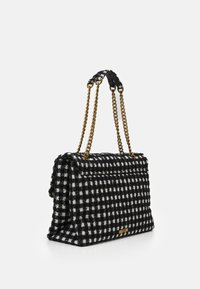 Kurt Geiger London - XXL KENSINGTON BAG - Handbag - black/white - 1