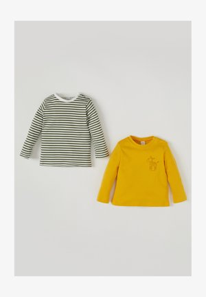 LONG SLEEVED PACK OF 2 - Longsleeve - yellow