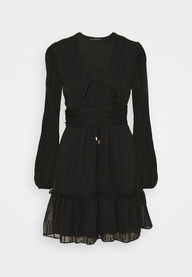 PETRA DRESS - Cocktailkjole - jet black