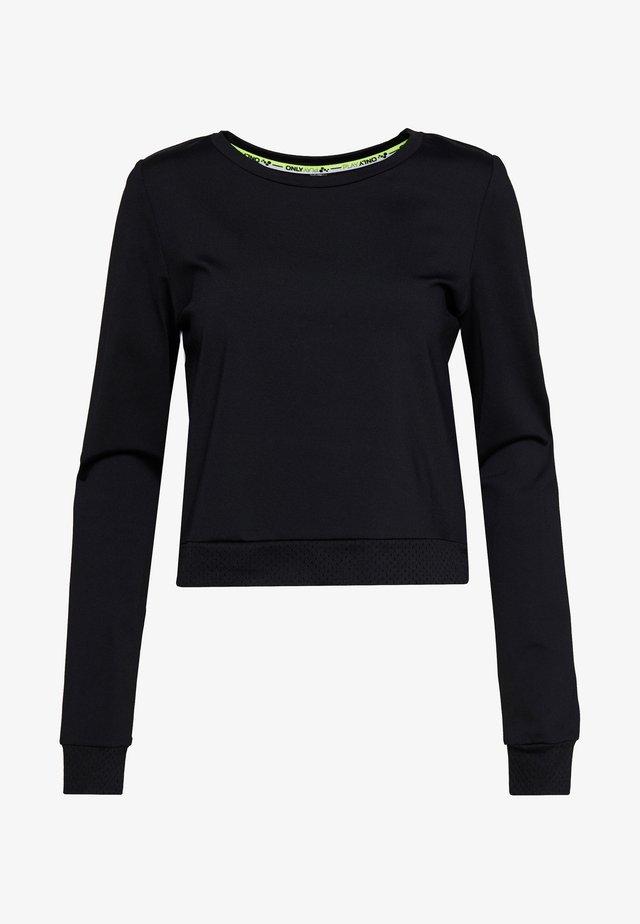 ONPADOR SHORT TALL - Pitkähihainen paita - black