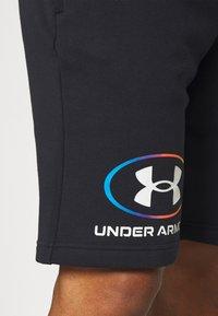Under Armour - RIVAL LOCKERTAG SHORT - Sports shorts - black - 3