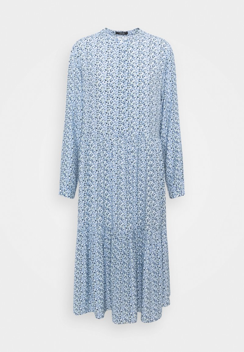 Opus - WERANI BLOOM - Shirt dress - blue mood