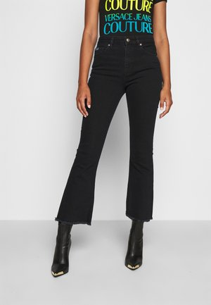 Flared Jeans - blue/black