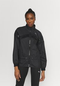 Puma - TRAIN JACKET - Training jacket - black - 0