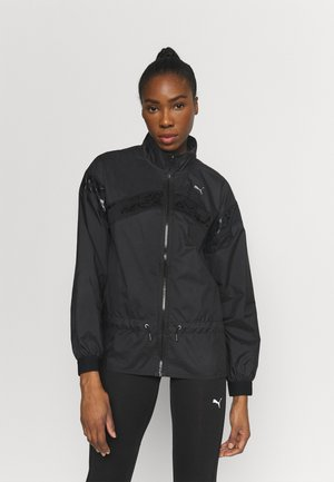TRAIN JACKET - Trainingsvest - black