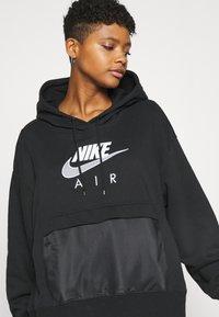 Nike Sportswear - AIR HOODIE - Mikina skapucí - black/white - 3