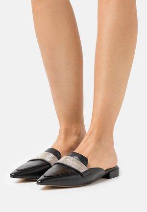 41 CHAIN STREET - Pantofle - black