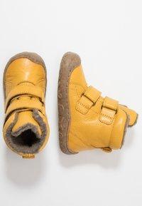 Froddo - Lær-at-gå-sko - yellow - 1