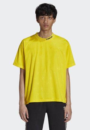 NINJA TEE - T-shirt med print - yellow