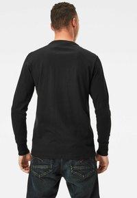 G-Star - UTILITY POCKET LOGO LONG SLEEVE - Long sleeved top - dk black - 1