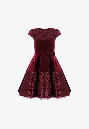 Cocktailjurk - burgundy red