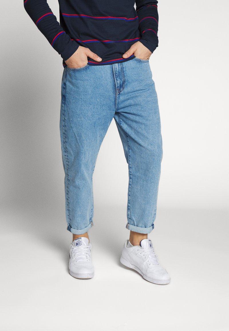 Lee - GRAZER - Relaxed fit jeans - light-blue denim