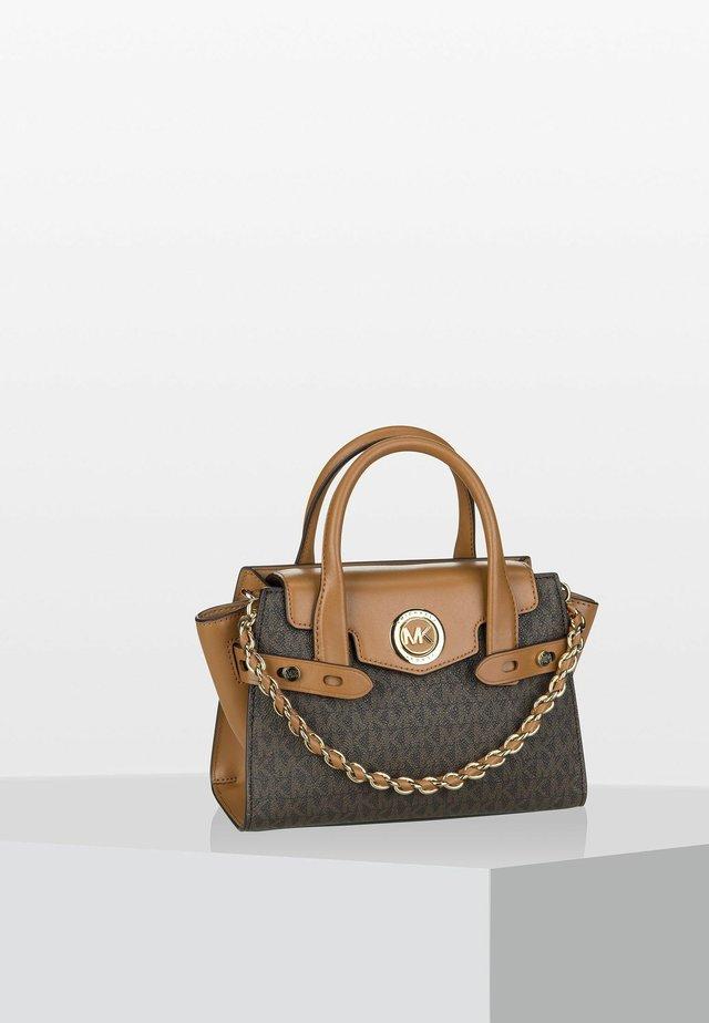 CARMEN FLAP - Handbag - brown/acorn