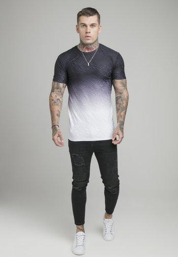 Print T-shirt - black & white