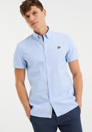 MIT PATCH-AUFDRUCK - Shirt - light blue