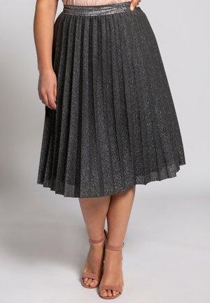 A-line skirt - asphalte