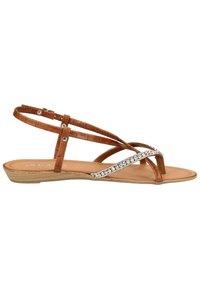 Scapa - SCAPA ZEHENSTEG - Sandals - brown - 6