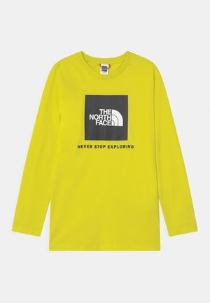 BOX LOGO UNISEX - Long sleeved top - sulphur spring green