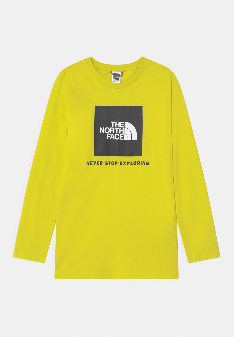 The North Face - BOX LOGO UNISEX - Top s dlouhým rukávem - sulphur spring green