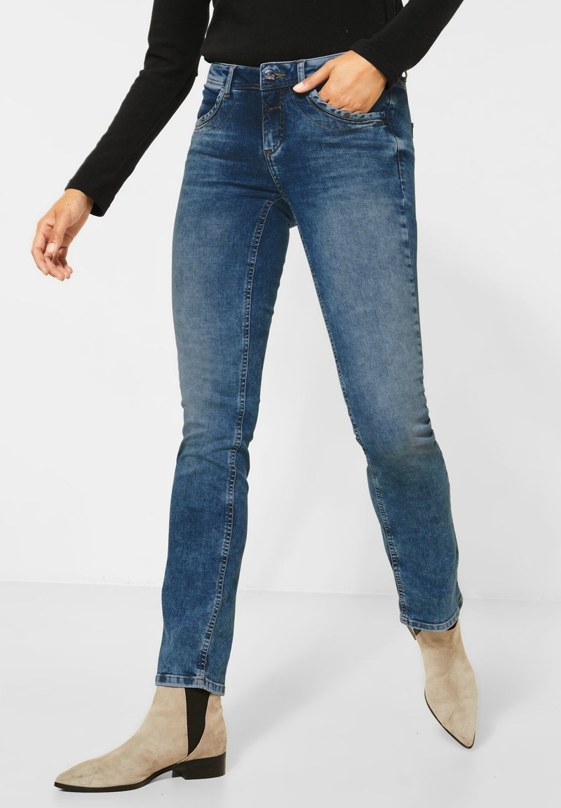 Street One - Jeans Skinny Fit - blau
