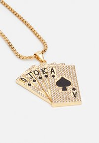 Urban Classics - CARDS NECKLACE - Necklace - gold-coloured - 2