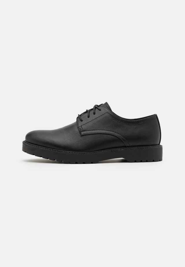 UNISEX - Derbies - black