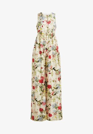 SLEEVELESS BUTTON FRONT JUMPSUIT - Jumpsuit - wild flower