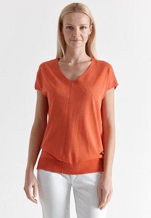 POMIRI - T-shirt print - orange