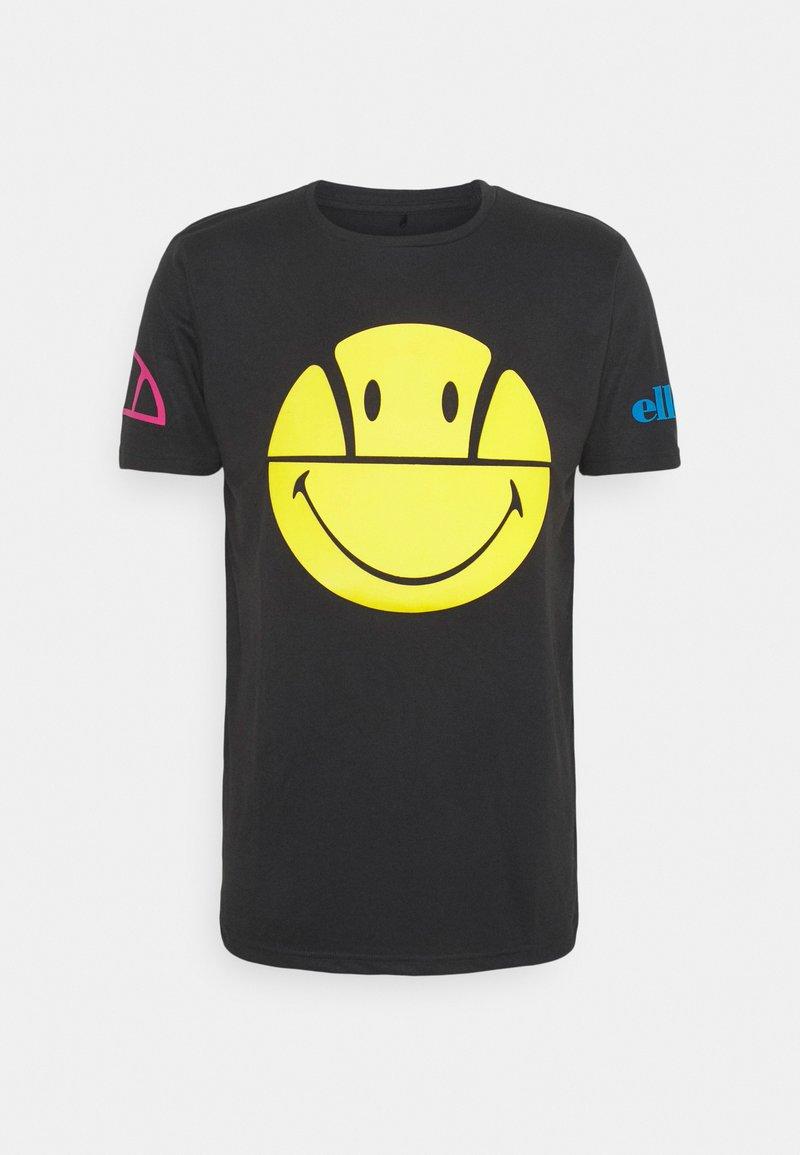 Ellesse - PLEASURO TEE  - Print T-shirt - dark grey