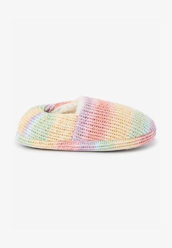 Slippers - multi-coloured