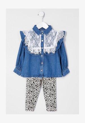 Overhemdblouse - blue, black