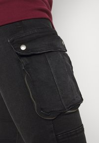 Brave Soul - DUST - Cargo trousers - charcoal - 3
