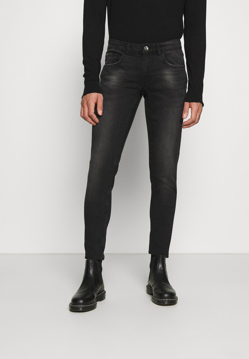 Redefined Rebel - LYON - Jeans Skinny Fit - charcoal