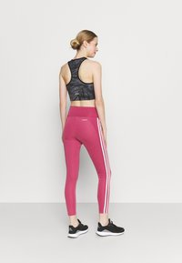 adidas Performance - Tights - wild pink/white - 2