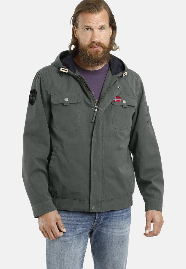 HERLEIF - Outdoor jacket - oliv
