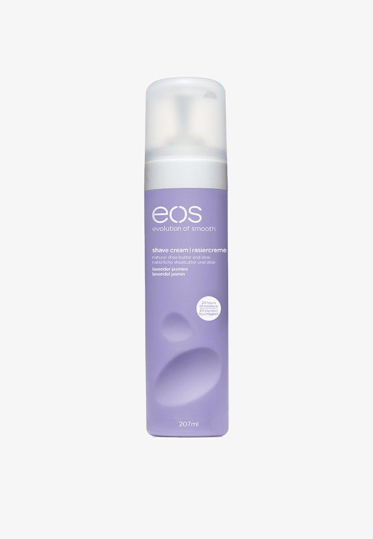 eos - SHAVING CREAM - Hårfjerning - lavender jasmine